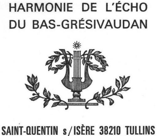 Harmonie de l'Echo du Bas-Grésivaudan