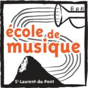 logo ecole de musique de saint laurent du pont