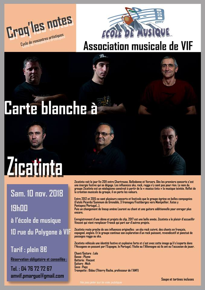 Association musicale de Vif Zicatinta