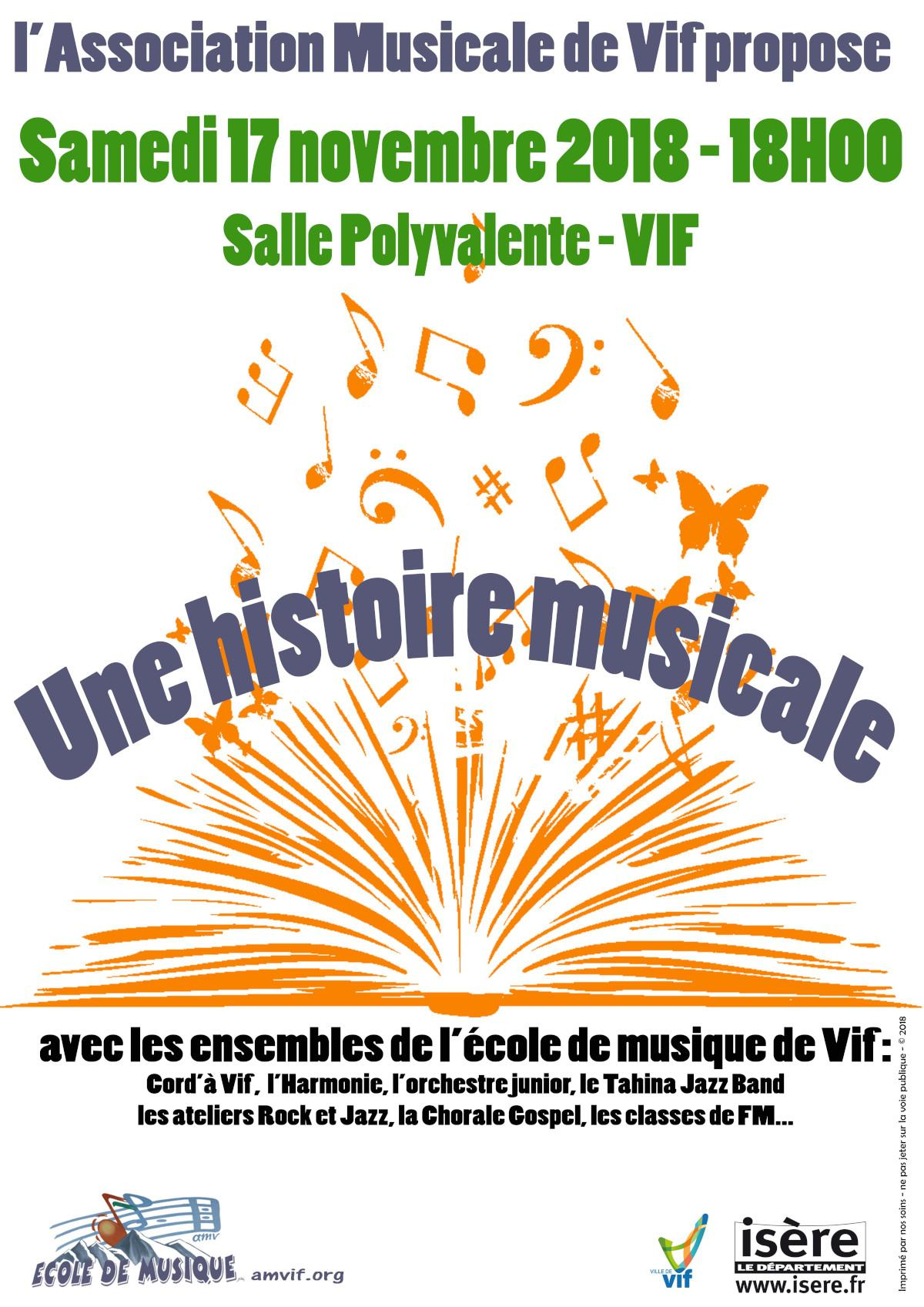 Association Musicale de Vif - Sainte Cécile 2018