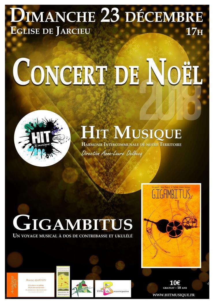 Hit Musique concert noel