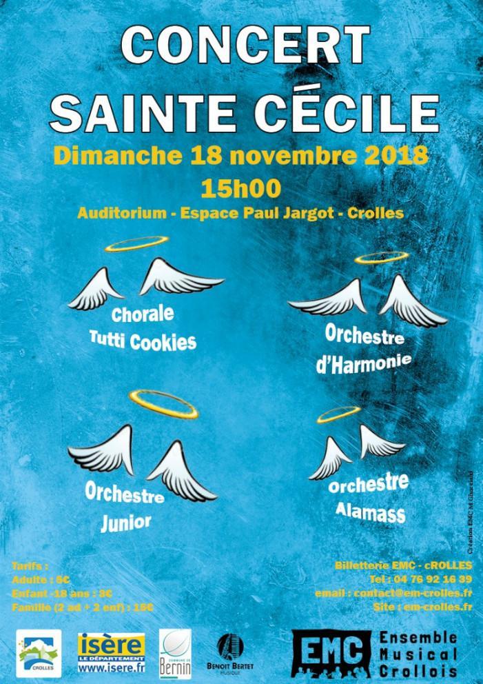 Ensemble musical crollois concert ste-cecile 151118