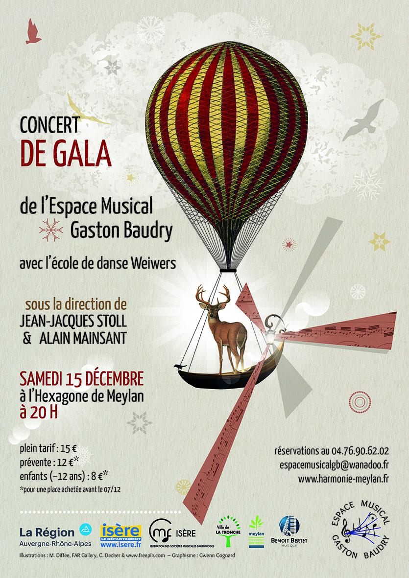 Espace Gaston Baudry concert de gala