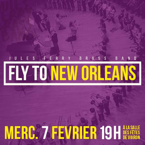 Conservatoire de Voiron Fly to New Orleans