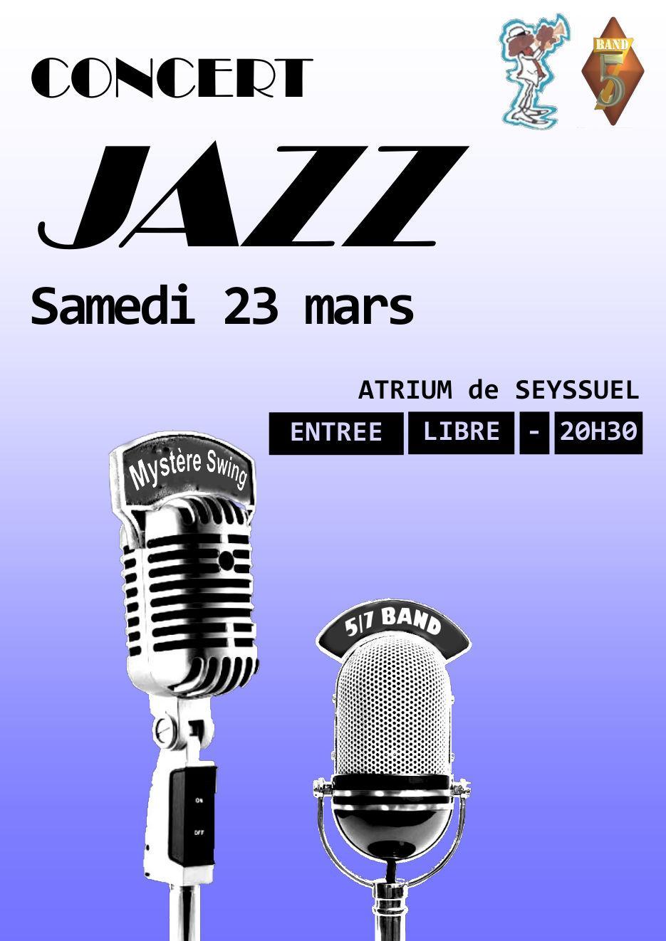 Concert 5/7 Band Seyssuel 23 mars 2019