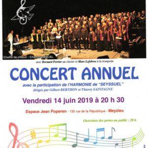 Concert Chorale meyzieu Alauda