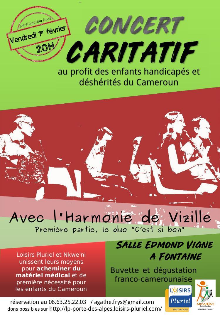 Concert 1er fevrier harmonie vizille