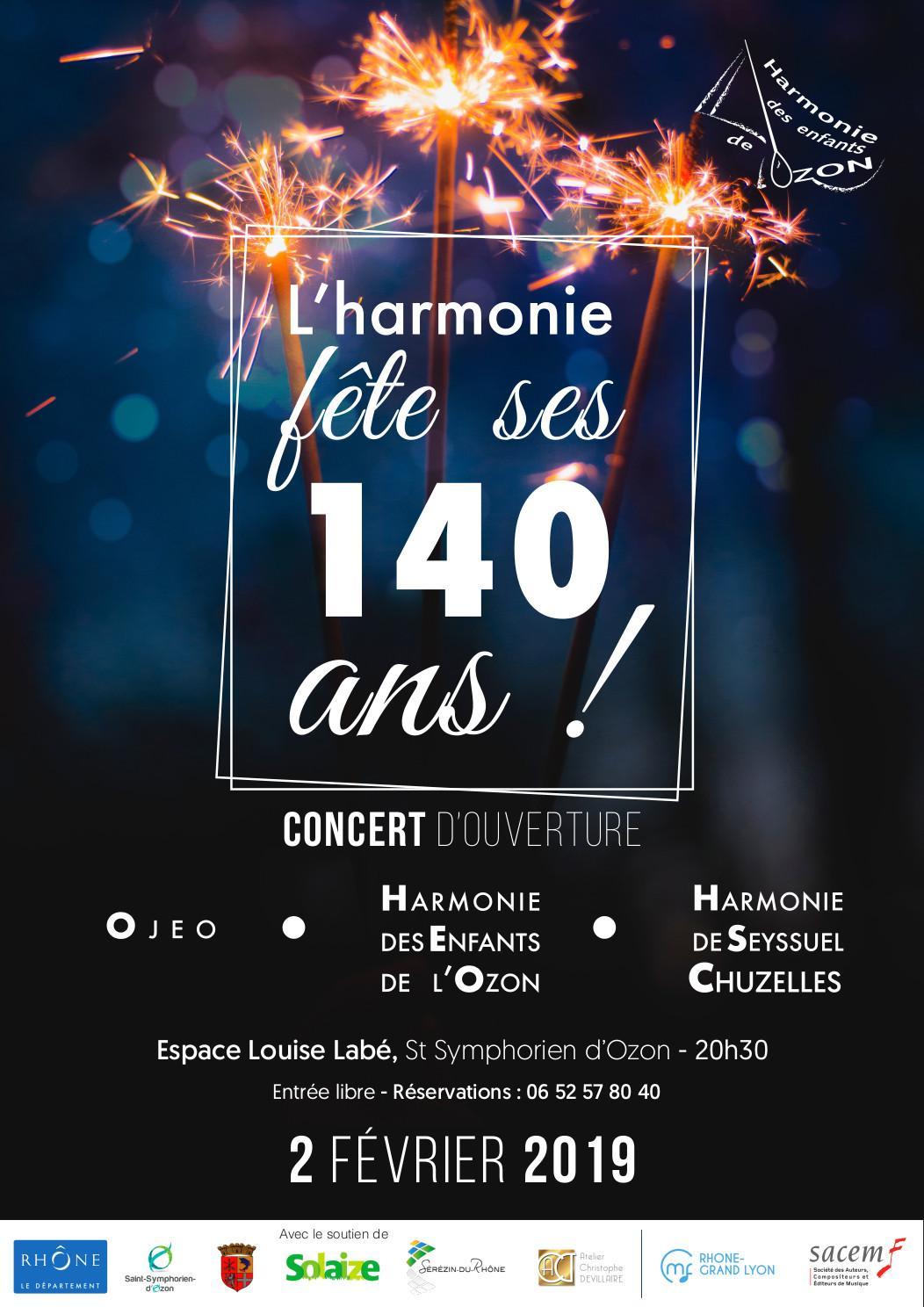 Concert St Symphorien d'Ozon 020219