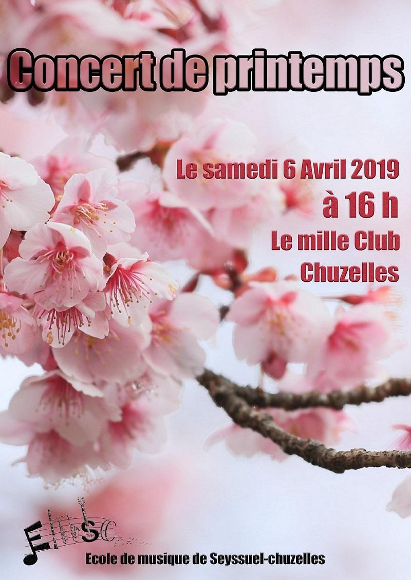 Concert de printemps école de musique de Seyssuel-Chuzelles