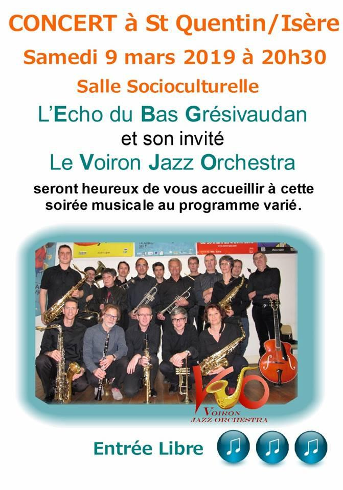harmonie echo du bas_gresivaudan_concert 090319