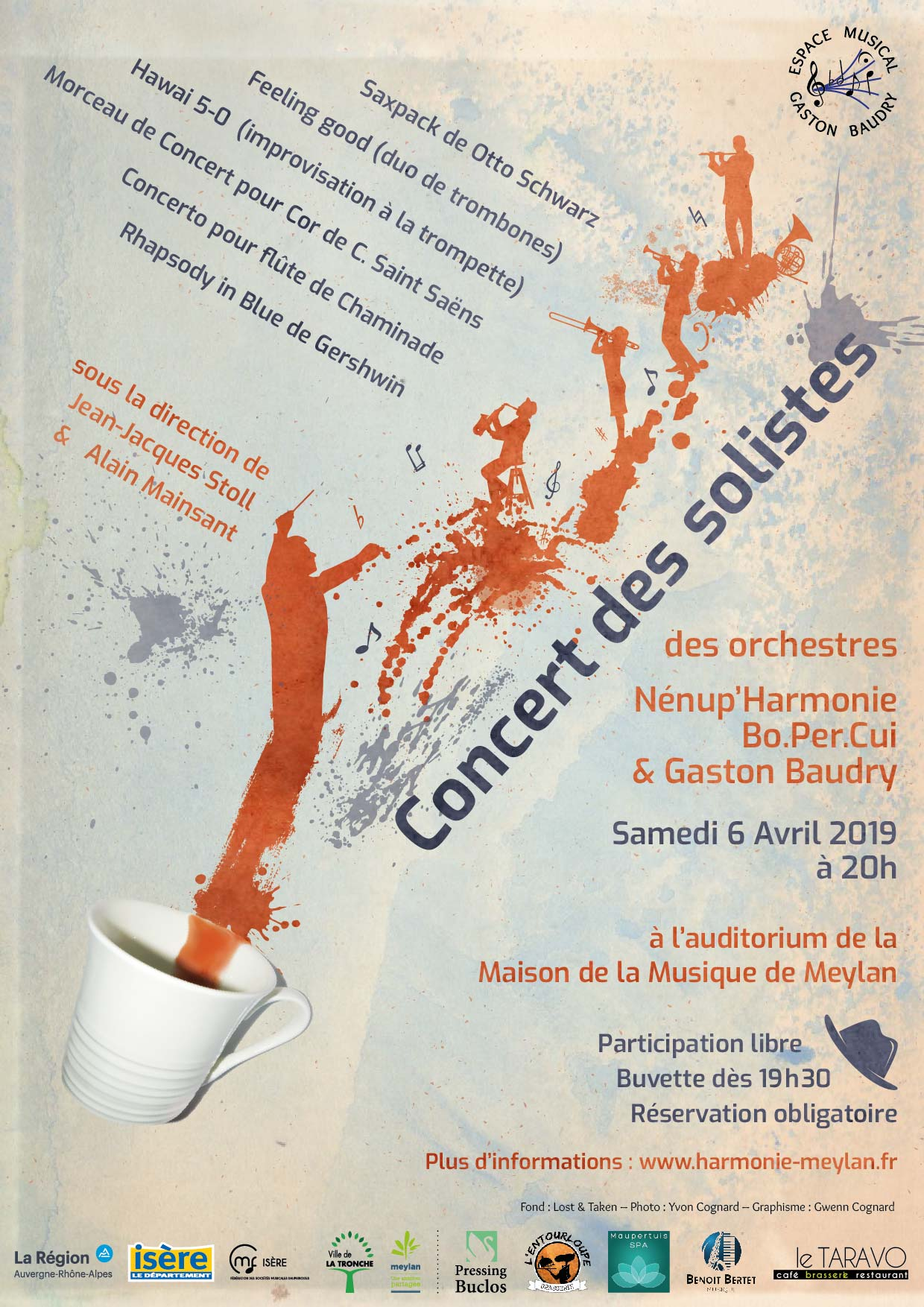 Concert Espace Musical Gaston Baudry