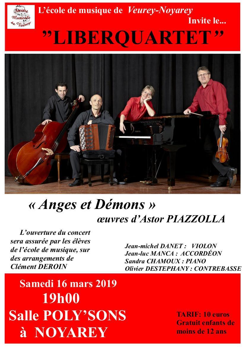 Concert Piazzolla Noyarey 16 mars 2019
