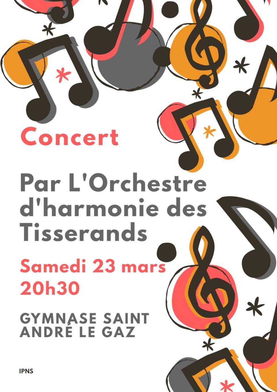 Concert Harmonie des Tisserands 230319
