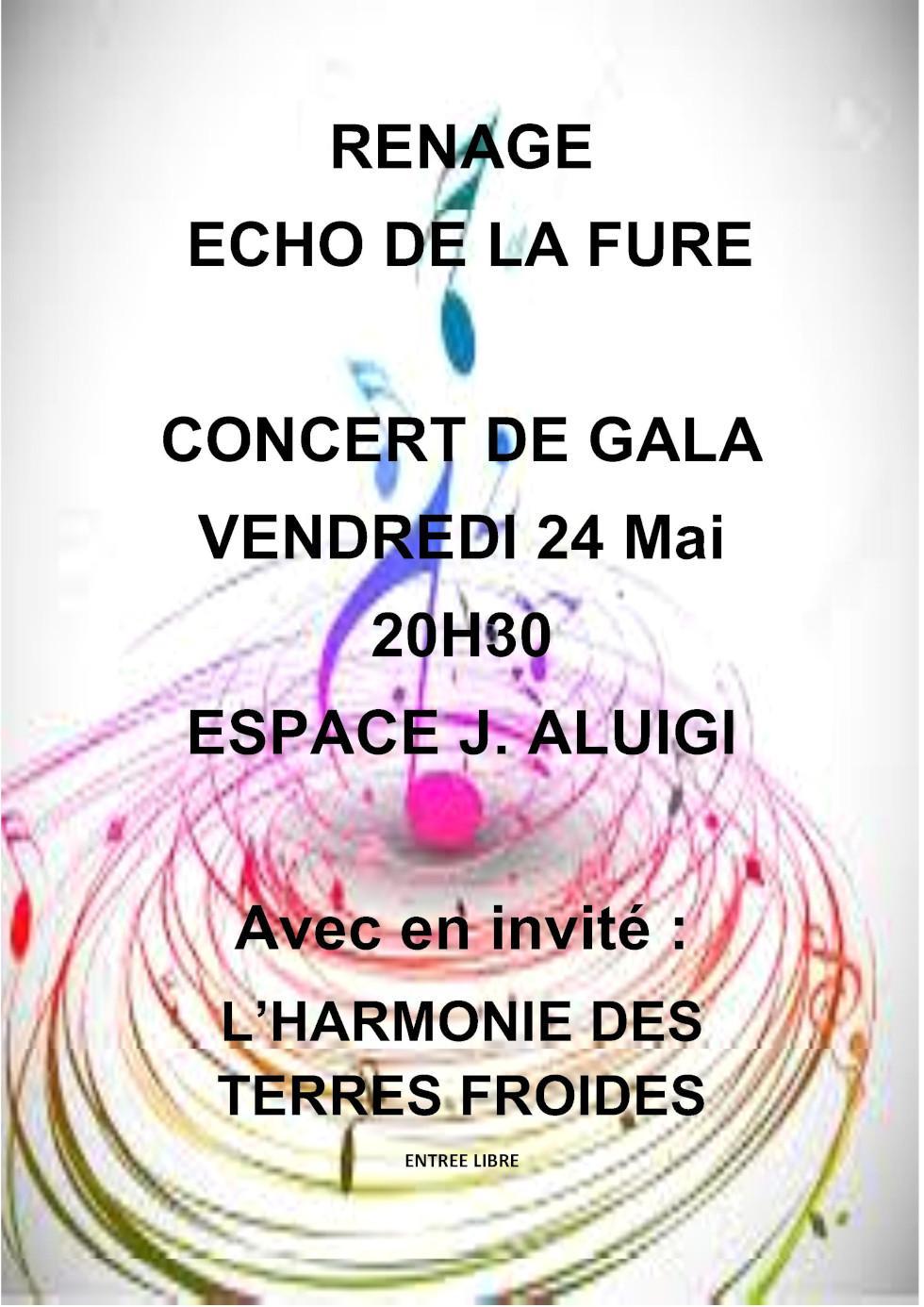 Echo de la Fure concert 24 mai 2019