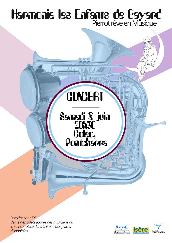 Concert de Gala harmonie les enfants de Bayard