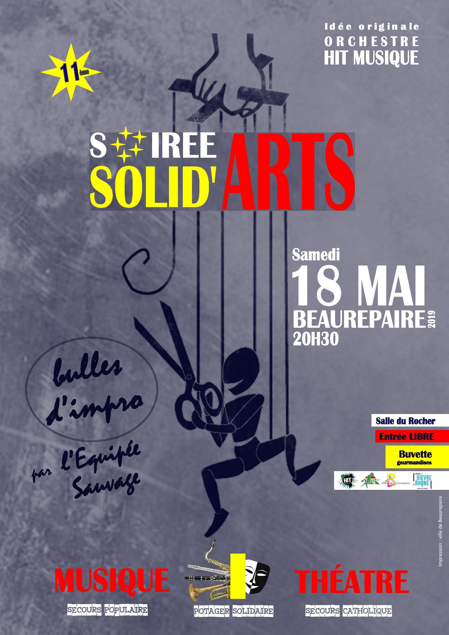 Affiche Solid Arts 18 05 2019