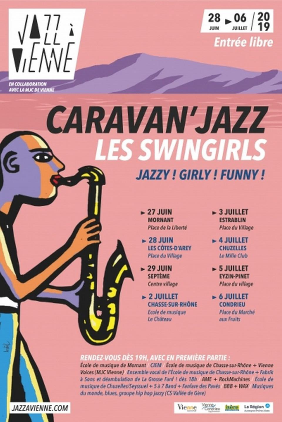 Caravan Jazz 2019 Swingirls