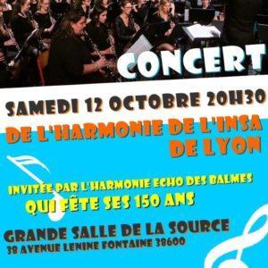 Concert harmonie INSA
