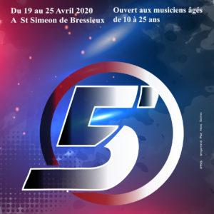 Sejour Musical 2020 CMF Isère