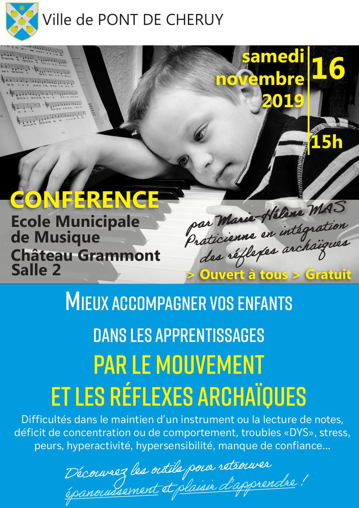 Conférences gratuite sur les mouvements rythmiques