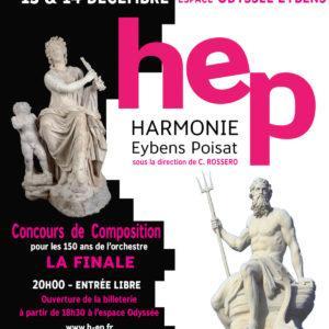 Concert noel harmonie Eybens Poisat