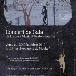 Concert de gala 2019 espace musical Gaston Baudry