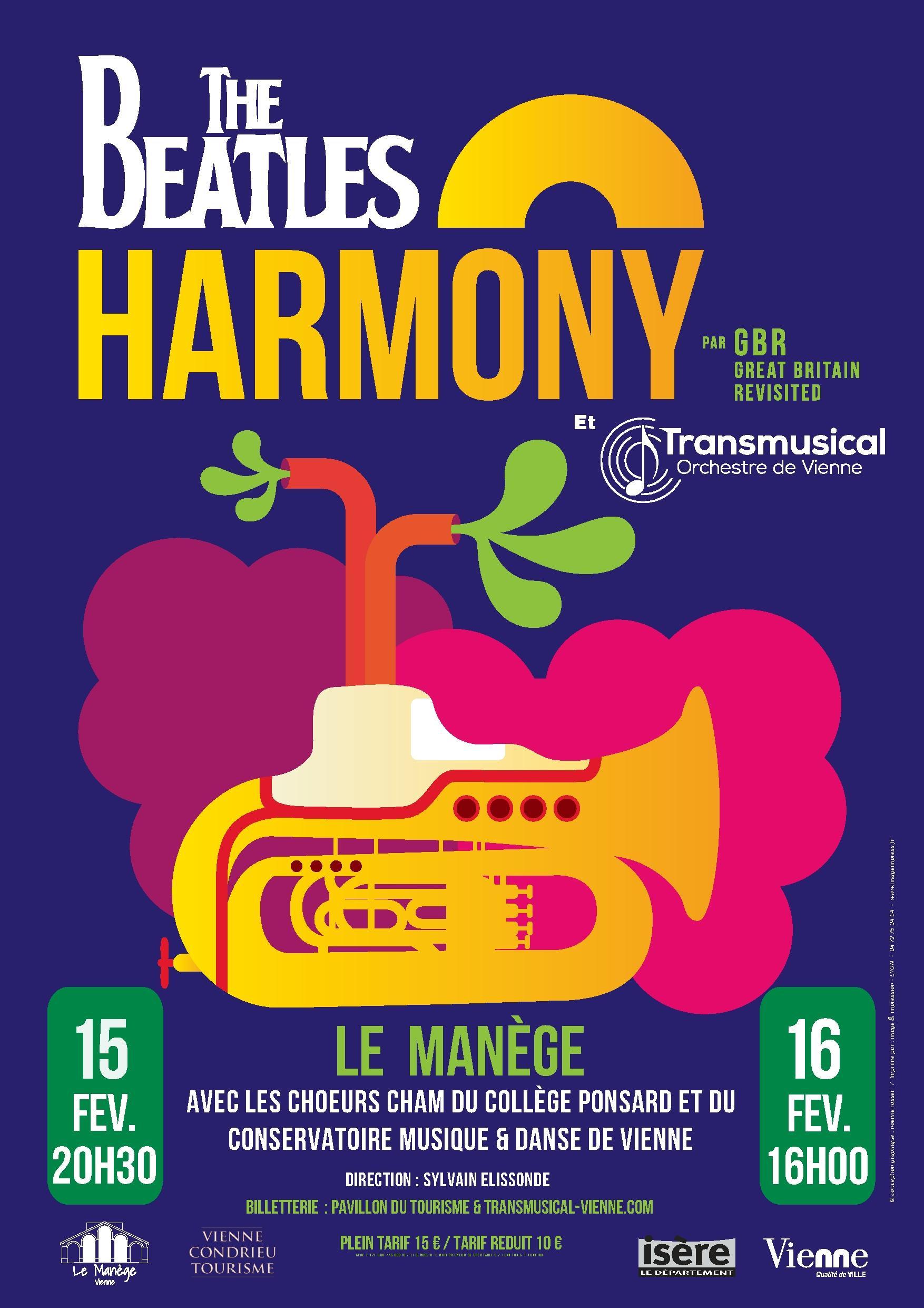 Transmusical Orchestre de Vienne Beatles Harmony