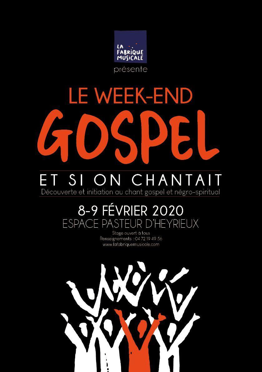 AFFICHE GOSPEL 2020 LA Fabrique Musicale