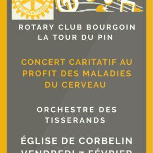 affiche concert 7 fevrier 2020 harmonie tisserands