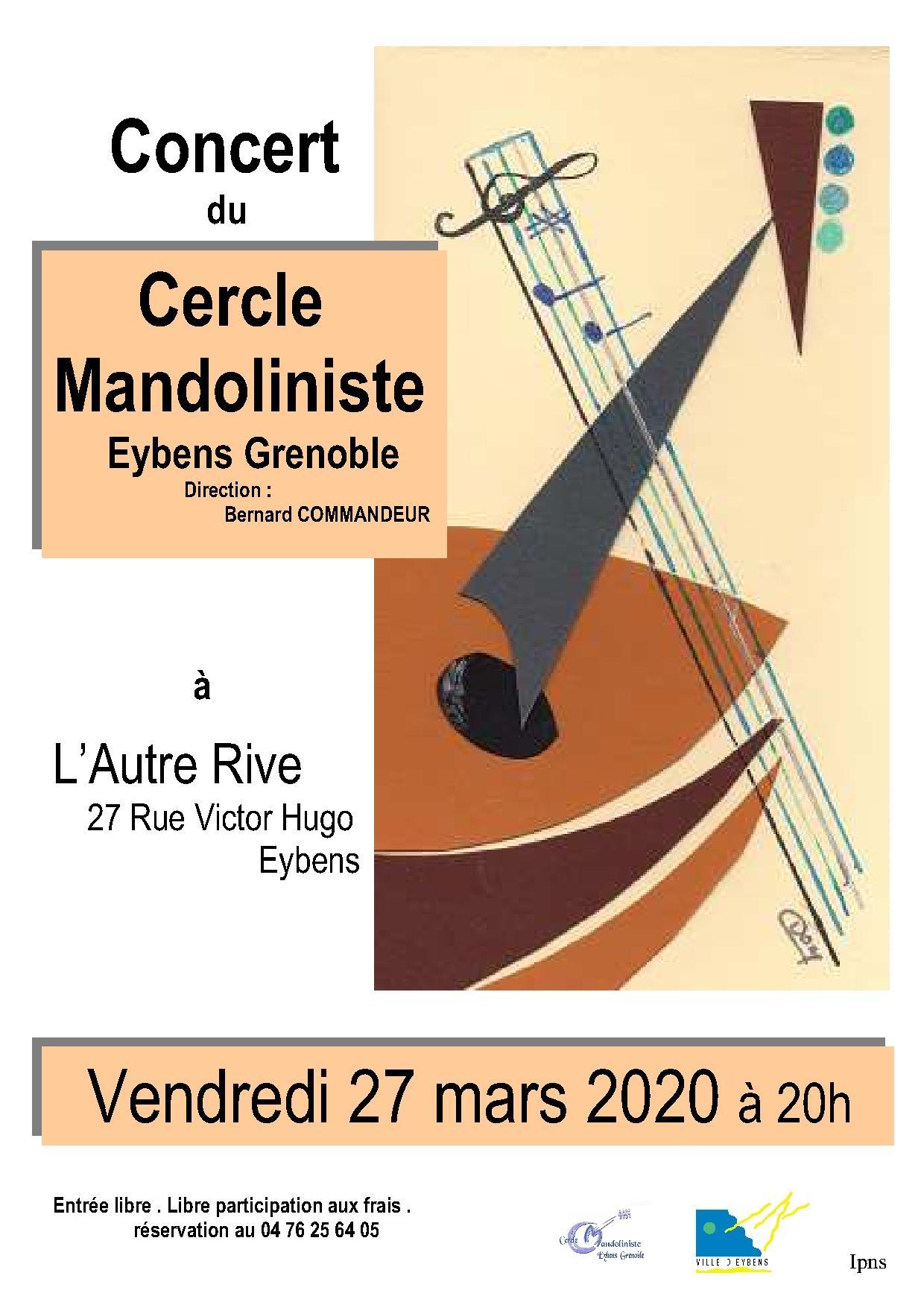 Concert du Cercle Mandoliniste d'Eybens Grenoble