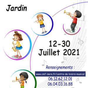 centre de loisirs musical 2021 Jardin isère