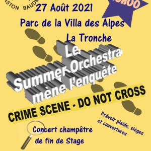 affiche concert stage Aout 2021 EMGB