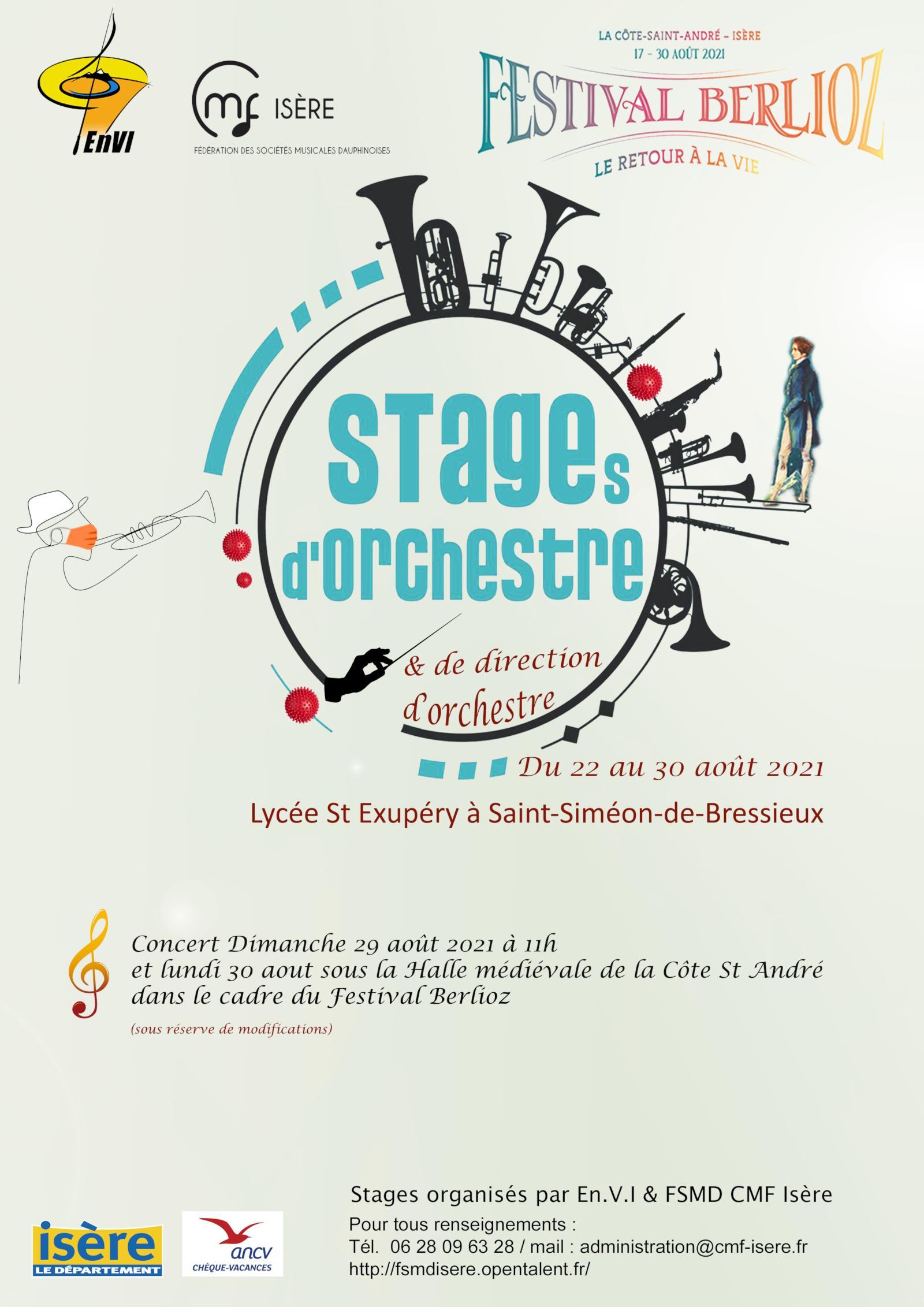 Stage orchestre et direction EnVI